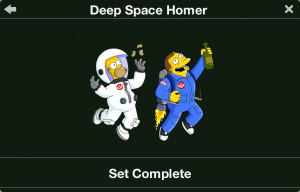 Deep Space Homer Characters