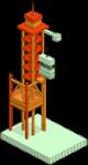 Rocket Launch Platform Empty