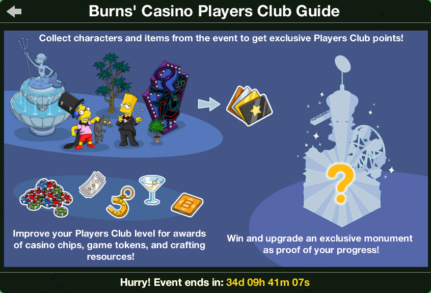 casino players club points