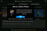 TSTO Burns' Casino Act 3 Prizes