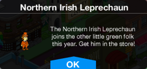Northern Irish Leprechaun Message