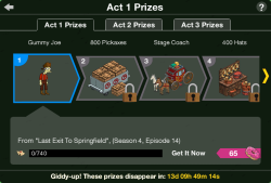 Act 1 Prizes