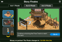 Act 1 Story Finales Screen