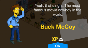 Buck McCoy Unlock