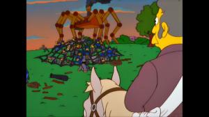 Frinks Spider Episode Image