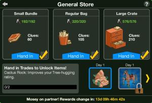 General Store Screen