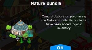 Nature Bundle Bought Message