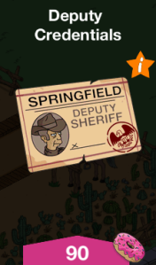 Deputy Credentials Menu Image