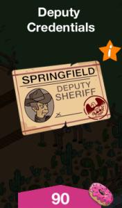 Deputy Credentials Menu Image
