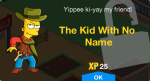 The Kid With No Name Unlock