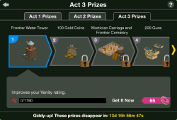 Act 3 Prizes