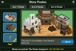 Act 3 Story Finale
