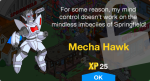 Mecha Hawk Unlock