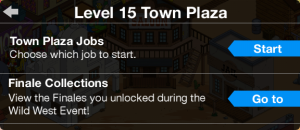 Town Plaza Ended