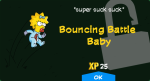 Bouncing Battle Baby Unlock