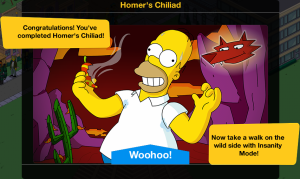 Homer's Chiliad End
