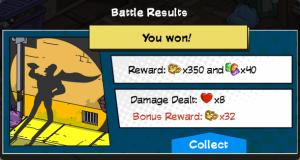 SH2 Battle Results