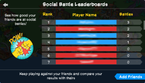 SH2 Social Battle Leaderboards