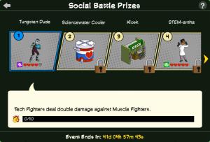 SH2 Social Battle Prizes