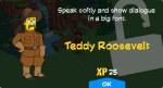 Teddy Roosvelt Unlock