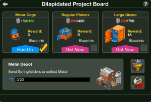 Delapitated Project Board