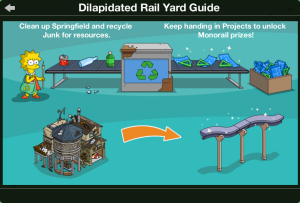 Delapitated Rail Yard Guide