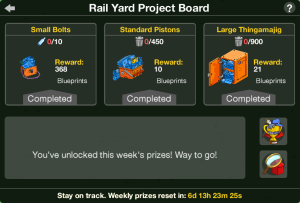 Rail Yard Project Board