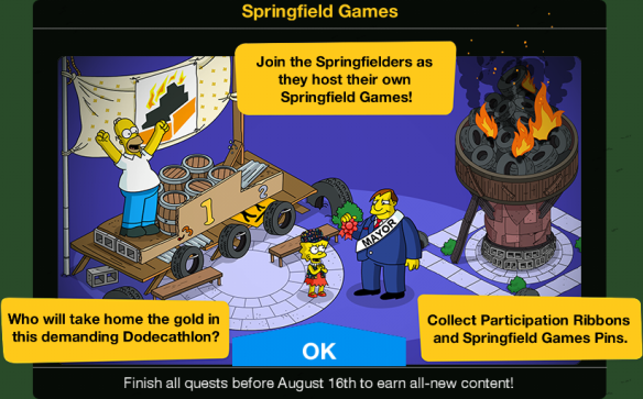 Springfield Games Event Guide