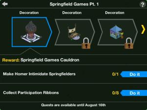 Springfield Games Pt. 1