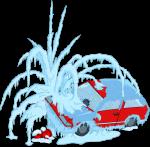 homersfrozencar
