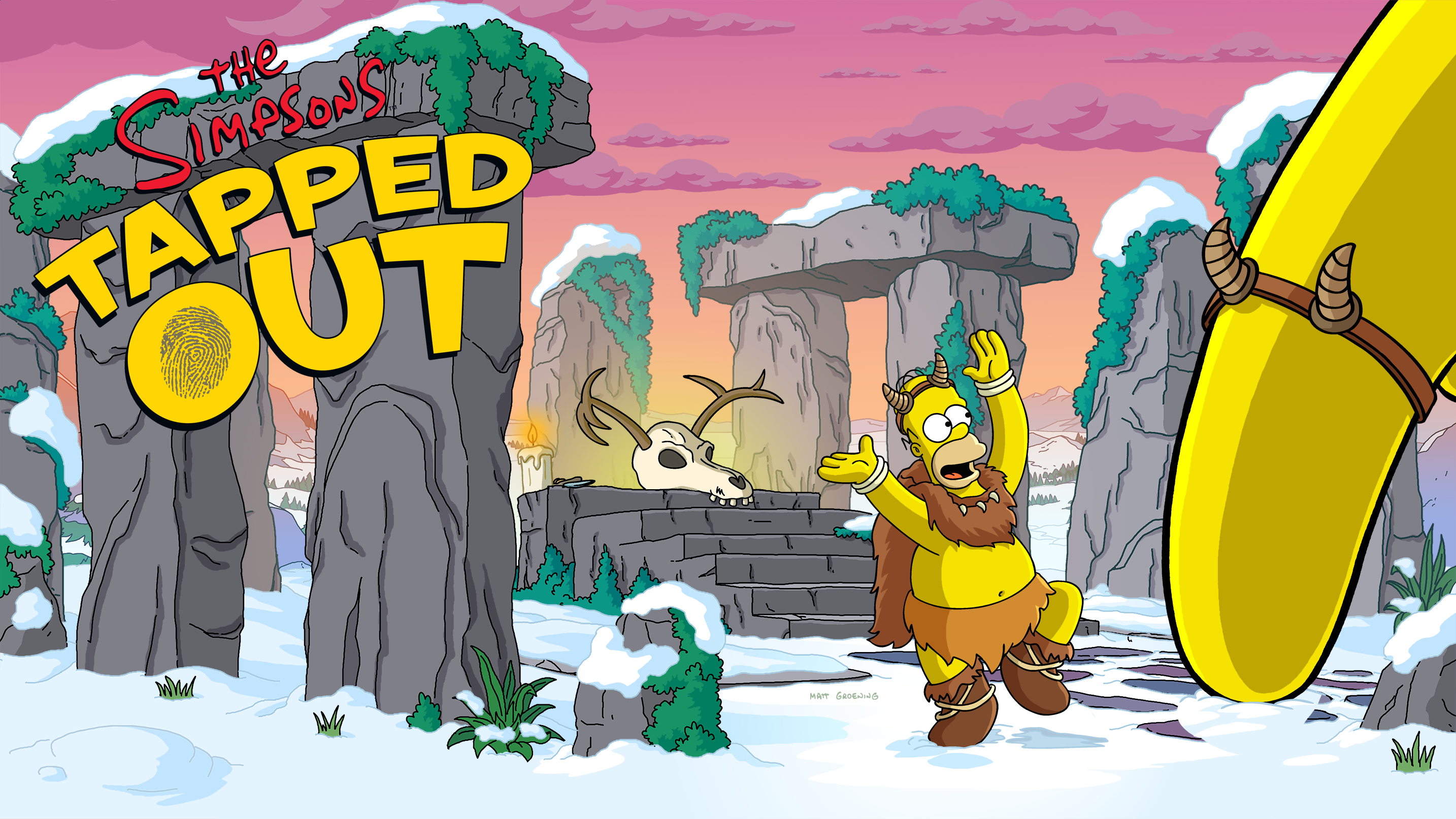 Simpsons tapped out 2018 christmas prizes